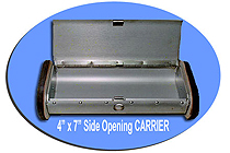 "4"" x 7"" Side Opening Carrier"